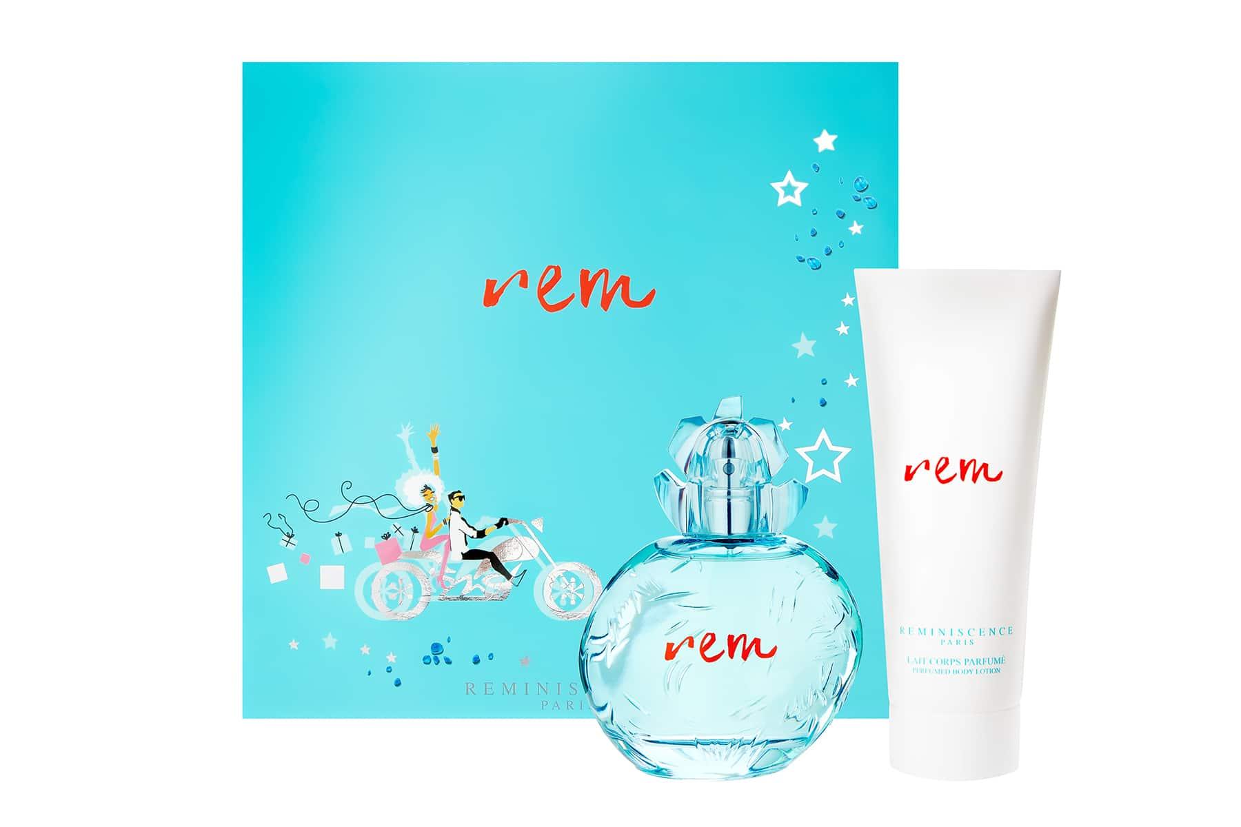 Packshot produit e-commerce coffret parfum