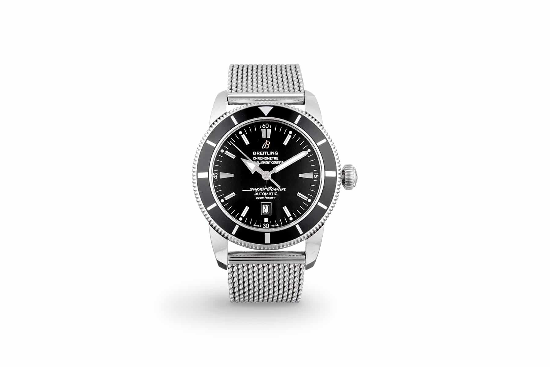 Packshot produit e-commerce montre et horlogerie